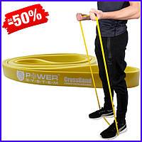 Спортивная резина Power System CrossFit Level 1 Yellow PS - 4051 резиновый эспандер-петля жгут для тренировок