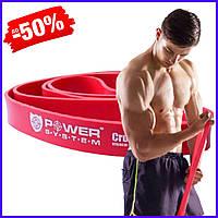 Спортивная резина Power System CrossFit Level 3 Red PS - 4053 резиновый эспандер-петля жгут для тренировок