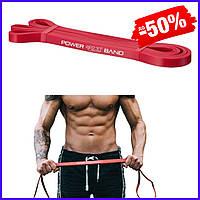 Спортивная резина 4FIZJO Power Band 4FJ1059 13 мм 6-10 кг резиновый эспандер-петля жгут для тренировок