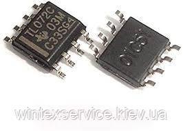Микросхема TL072C so-8