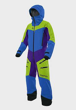 Костюм мужской горнолыжный Reactor Outdoor - Violet-Lime-Blue - размер XXL