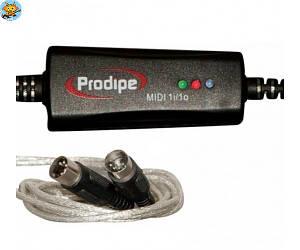 Аудиоинтерфейс Prodipe MIDI USB