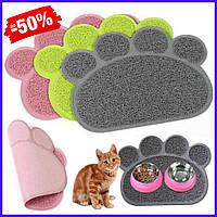 Коврик для домашних животных Paw Print Litter Mat автомобильный коврик для кошек и собак с лапками