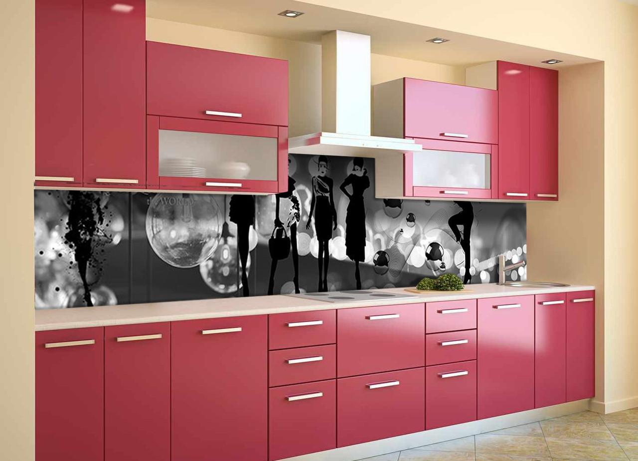 Скинали на кухню Zatarga «Вдохновение» 600х3000 мм виниловая 3Д наклейка кухонный фартук самоклеящаяся