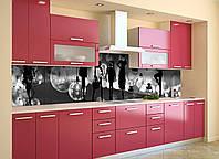 Скинали на кухню Zatarga «Вдохновение» 600х3000 мм виниловая 3Д наклейка кухонный фартук самоклеящаяся, фото 1