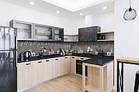 Скинали на кухню Zatarga «Камешки» 650х2500 мм виниловая 3Д наклейка кухонный фартук самоклеящаяся, фото 1
