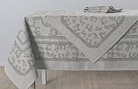 """Льняной столовый комплект """"Луиза"""" на 6 персон (скатерть 150 на 200 см), фото 1"""