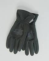Перчатки микрофлис UP FL темно-серые