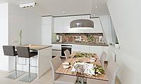 Наклейка 3Д виниловая на стол Zatarga «Полевые цветы белые» 600х1200 мм для домов, квартир, столов, , фото 1