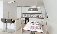 Наклейка 3Д виниловая на стол Zatarga «Натюрморт Прованс» 600х1200 мм для домов, квартир, столов, , фото 1