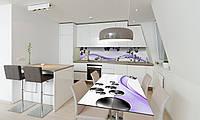 Наклейка 3Д виниловая на стол Zatarga «Стальные шары 02» 600х1200 мм для домов, квартир, столов, , фото 1