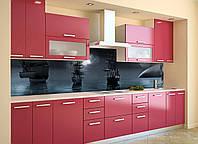 Скинали на кухню Zatarga «Ночные Корабли» 600х2500 мм виниловая 3Д наклейка кухонный фартук самоклеящаяся, фото 1