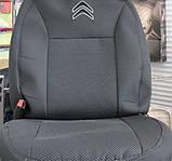 Авточехлы Prestige на Citroen C-Elysee,Ситроен Элизе модельный комплект, фото 3