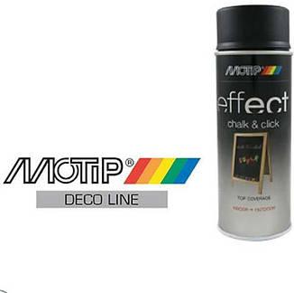Грифельная краска в баллончике MOTIP Deco Effect, 400мл, фото 2