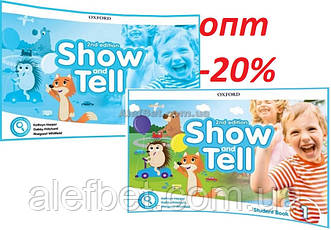 Английский язык / Show and Tell / Student+Activity Book. Учебник+Тетрадь (комплект), 1 / Oxford