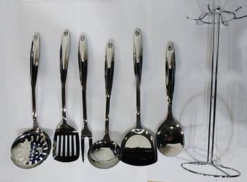 Кухонный набор на подставке Benson BN-452 из 7 предметов