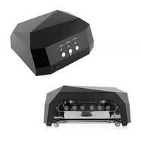 уф лампа для маникюра LED+CCFL Гибридная лампа для гель-лаков и Геля 36 watt ЧЁРНЫЙ