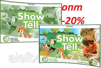 Английский язык / Show and Tell / Student+Activity Book. Учебник+Тетрадь (комплект), 2 / Oxford