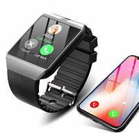 Наручные смарт часы Smart Watch DZ09, смарт вотч, часы телефон, Умные часы   смарт годинник (Гарантия 12 мес