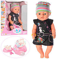 Кукла беби борн, интерактивная , baby born