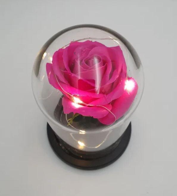 ✅Роза в колбе с подсветкой , подарок   на 8 марта