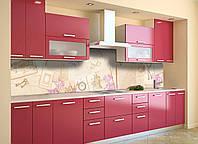 Скинали на кухню Zatarga «Под Старину» 650х2500 мм виниловая 3Д наклейка кухонный фартук самоклеящаяся, фото 1