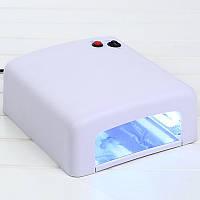 уф лампа для маникюра UV лампа для сушки гелей гель лаков УФ лампа SK-818, 36W