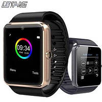 Наручные смарт часы Smart GT08, смарт вотч, часы , фитнес браслет   смарт часи (Гарантия 12 мес)