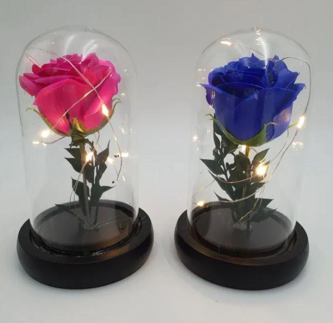 ✅Роза в колбе с подсветкой , подарок  для девушки на 8 марта