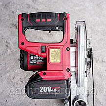 Пила аккумуляторная торцовочная Worcraft CMS-S20Li, фото 2