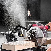 Пила аккумуляторная торцовочная Worcraft CMS-S20Li, фото 3