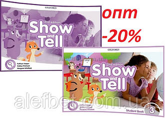 Английский язык / Show and Tell / Student+Activity Book. Учебник+Тетрадь (комплект), 3 / Oxford