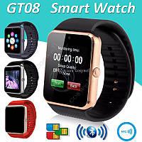 Наручные смарт часы Smart GT08, смарт вотч, часы , фитнес браслет | смарт часи (Гарантия 12 мес)