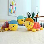Плед мягкая игрушка 3 в 1  Черепашка лиловая  (77), фото 2