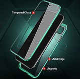 Магнитный металл чехол FULL GLASS 360° для Xiaomi Redmi 9C, фото 5