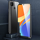 Магнитный металл чехол FULL GLASS 360° для Xiaomi Redmi 9C, фото 7