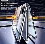 Магнитный металл чехол FULL GLASS 360° для Xiaomi Redmi 9C, фото 9