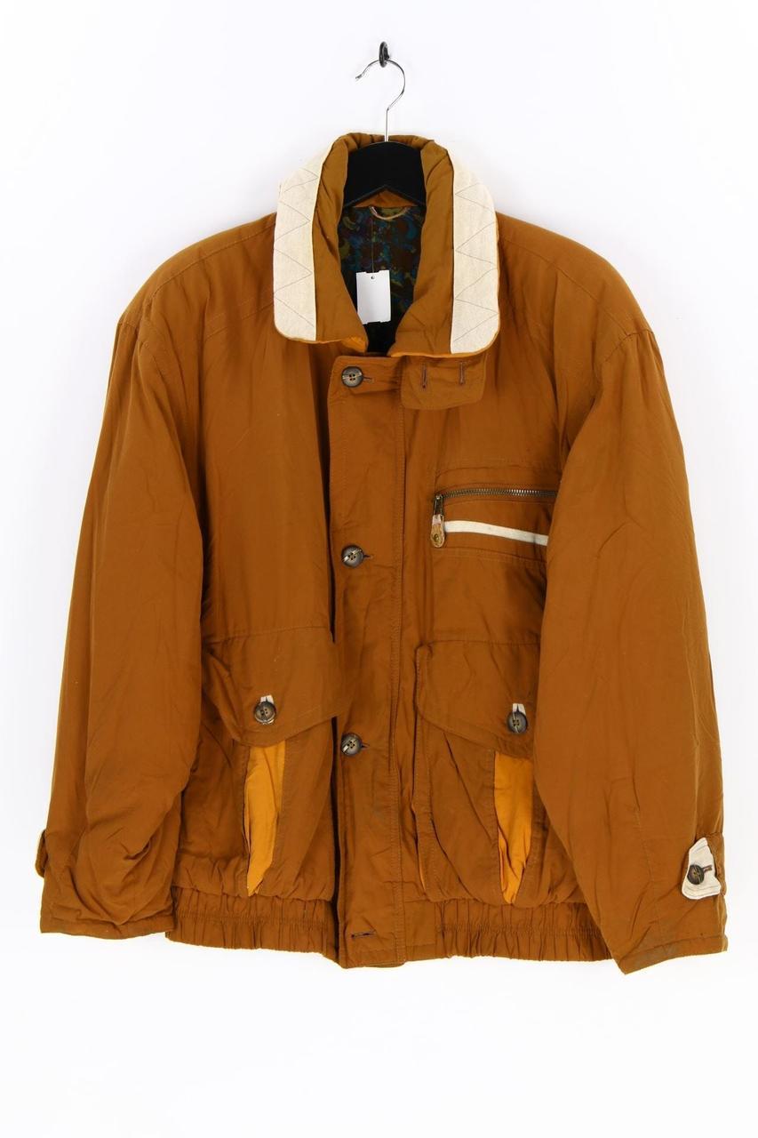 Куртка мужская D9120 коричневая