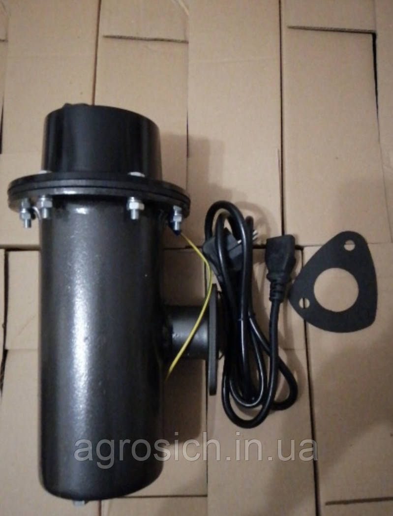 Водонагрівач. Передпусковий підігрівач блоку МТЗ (2200w - 220V)
