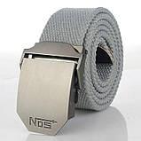 Джинсовый пояс самосброс «NOS» 110-130 см (стропа на выбор), фото 7