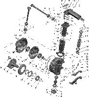 Группа 23. Передний ведущий мост Подгруппа 2308. Редуктор конечной передачи ПВМ (для ПВМ 72-2300020-А-04 («БЕЛАРУС-82.1»))