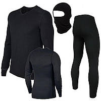 Термобелье мужское, термокостюм Fazo-R + Подарок балаклава
