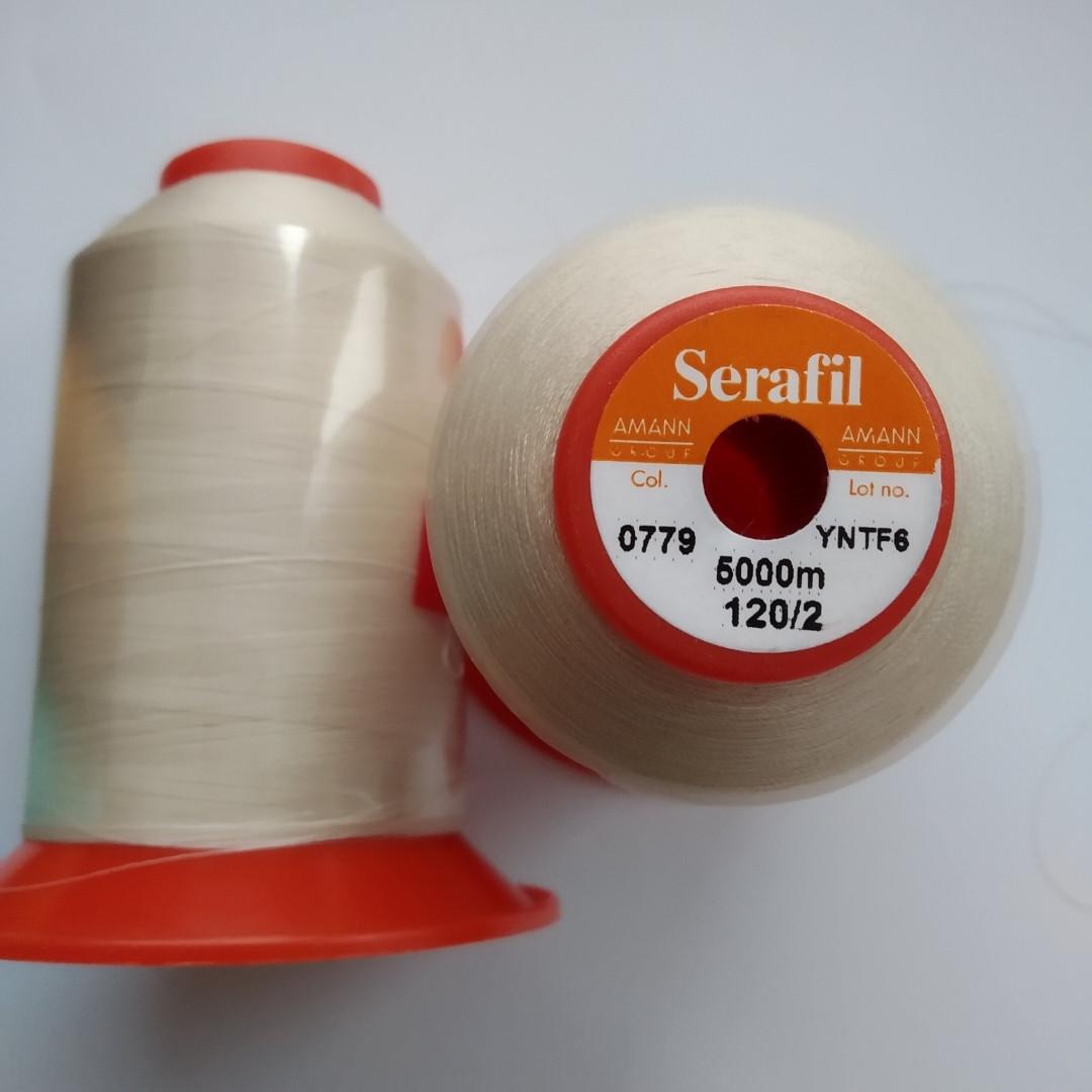 Нитки Serafil Amann 120/2  колір 0779