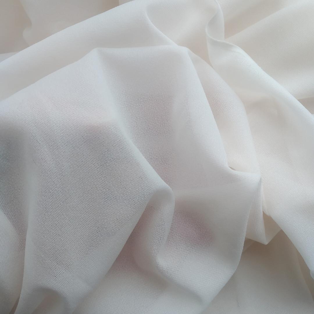 Дублерин тонкий, еластичний колір айворі