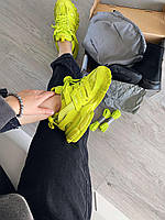 Женские Кроссовки Balenciaga Track Trainer Lime In Yellow