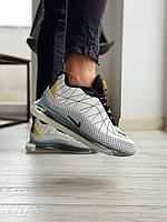 Мужские Кроссовки Nike MX 720-818 White Black Yellow