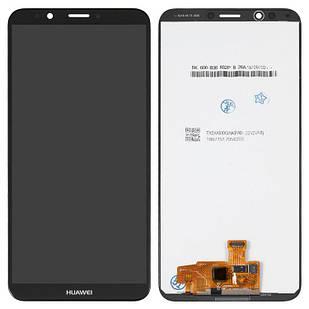 Модуль Huawei Y7 Prime 2018 черный Original