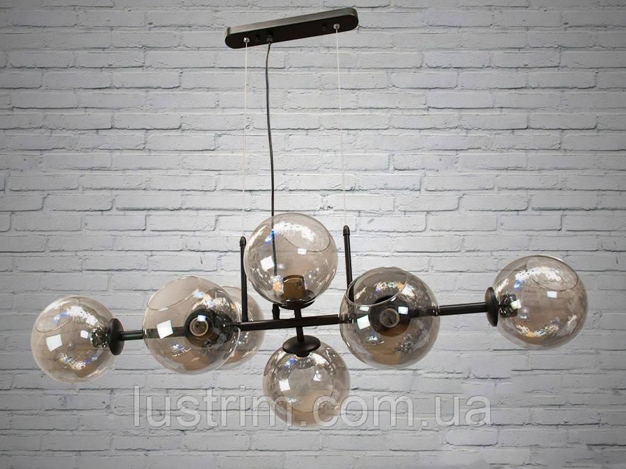 """Люстра в стиле Loft - """"Молекула"""" на 8 ламп"""