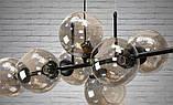 """Люстра в стиле Loft - """"Молекула"""" на 8 ламп, фото 2"""