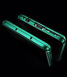 Магнитный металл чехол FULL GLASS 360° для Samsung Galaxy A71, фото 5